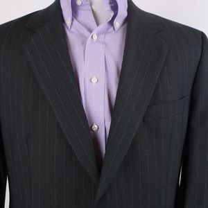 Brooks Brothers Brooks Stretch Charcoal Gray 42R